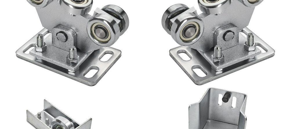 Komplet wózków do profilu 70x70x4 z akcesoriami