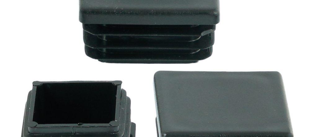 Zaślepki plastikowe na profil kwadratowy